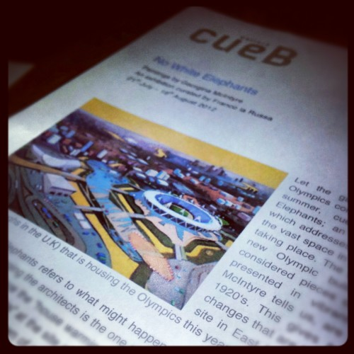 The cueB press release for Gina's exhibition