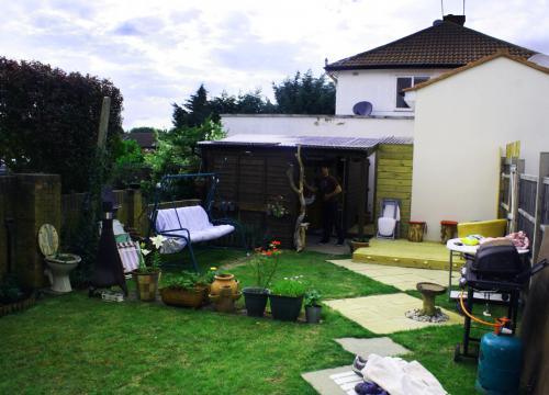 Charnley's garden