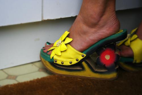Majka's very interesting shoes
